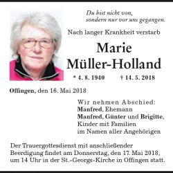 Marie Müller-Holland