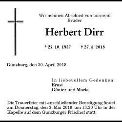 Herbert Dirr