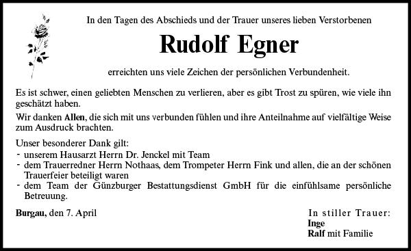 Rudolf Egner