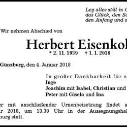 Herbert Eisenkolb