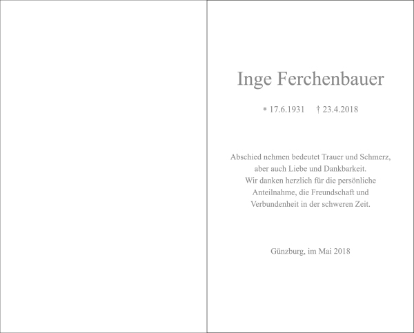 Inge Ferchenbauer