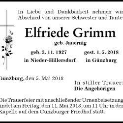 Elfriede Grimm