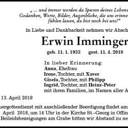 Erwin Imminger