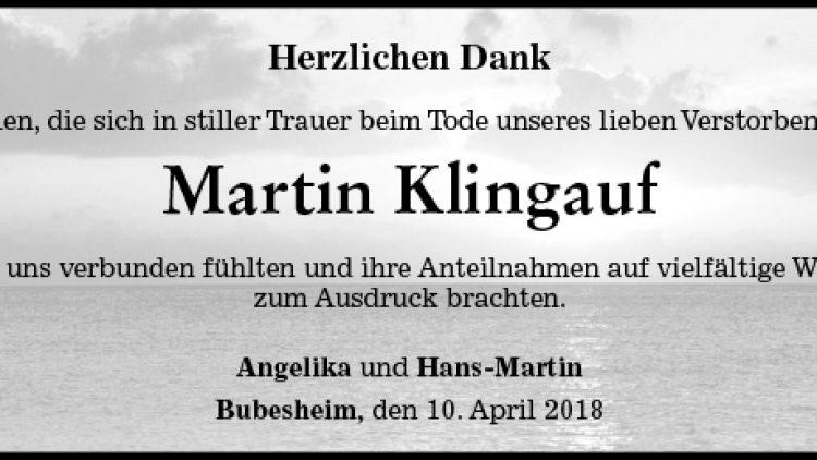 Martin Klingauf