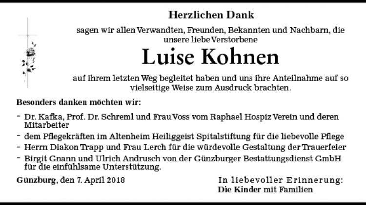 Luise Kohnen