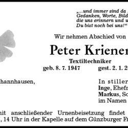 Peter Kriener