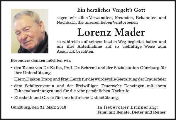 Lorenz Mader