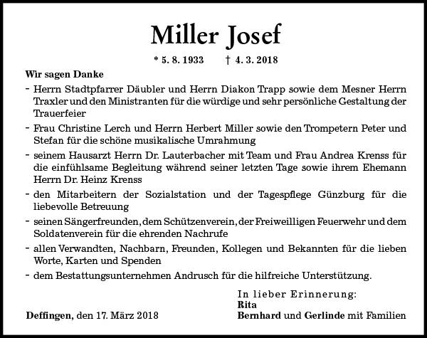 Miller Josef