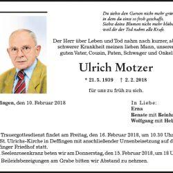 Ulrich Motzer