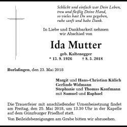 Ida Mutter