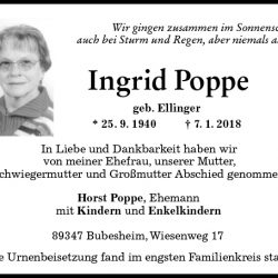 Ingrid Poppe
