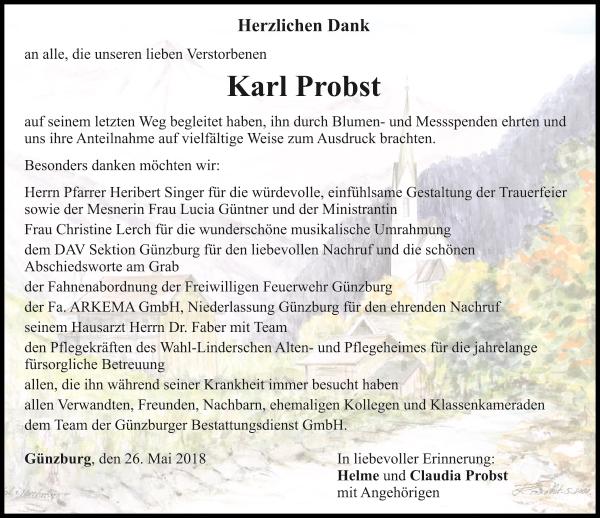 Karl Probst