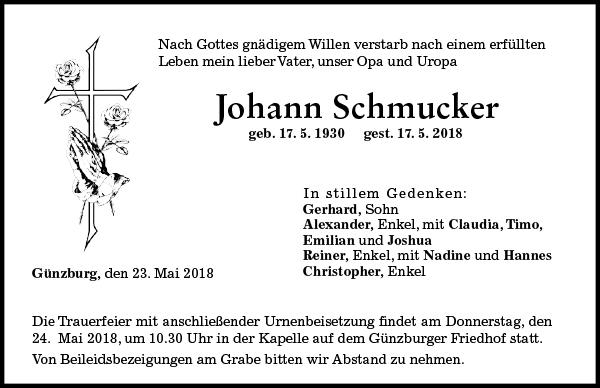 Johann Schmucker