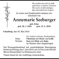 Annemarie Seeburger