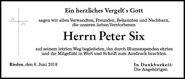 Peter Six