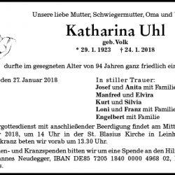 Katharina Uhl