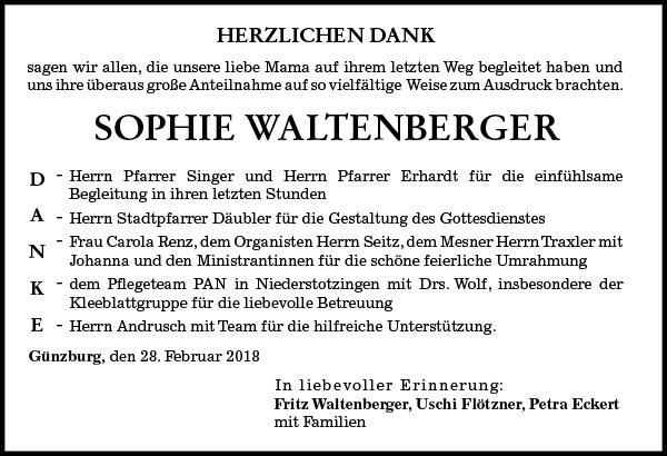 Sophie Waltenberger