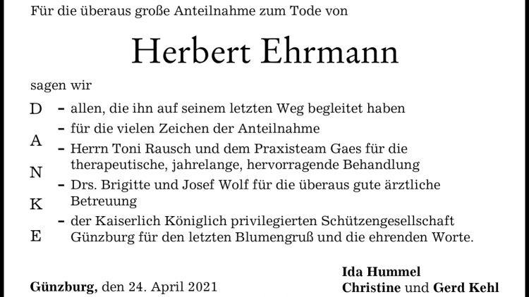 Herbert Ehrmann