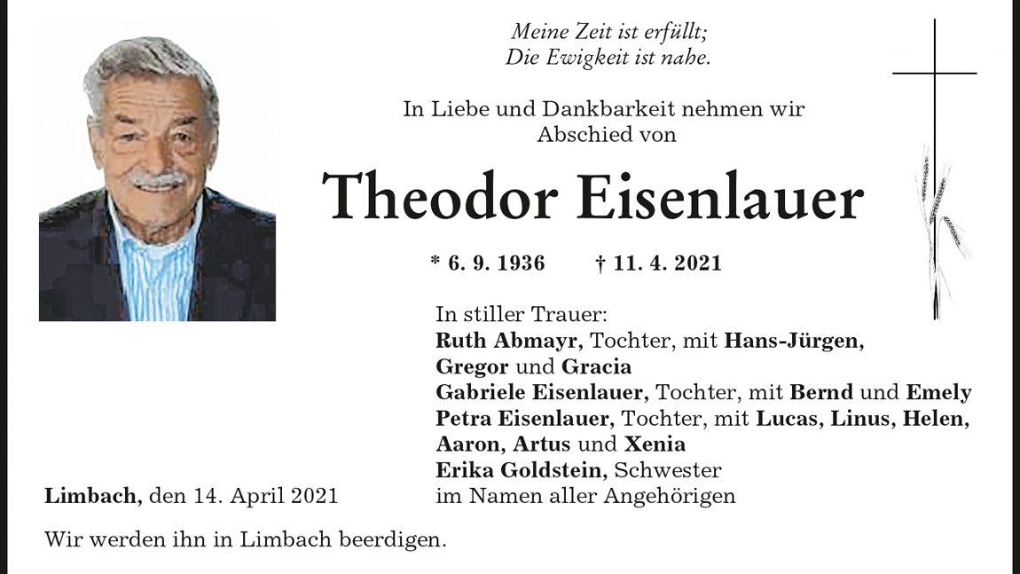Theodor Eisenlauer