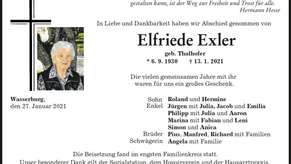 Elfriede Exler