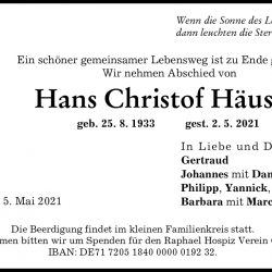 Hans Christof Häusele
