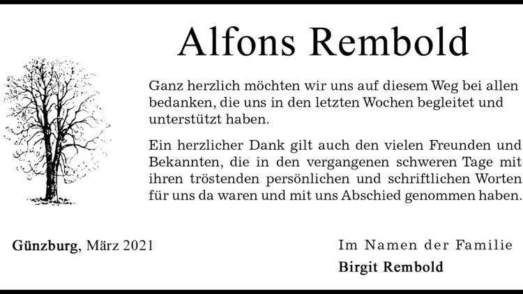 Alfons Rembold